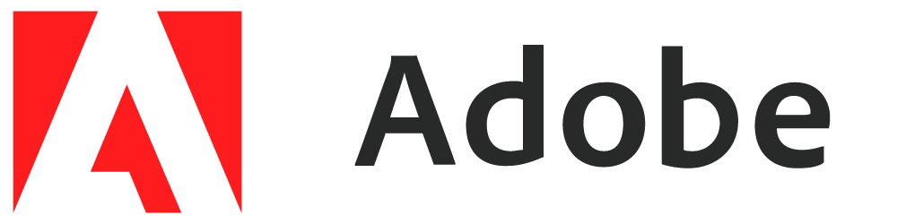 Adobe logo wordmark