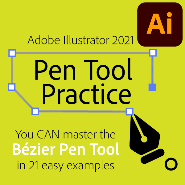 Mike's Pen Tool Practice for Illustrator 2021
