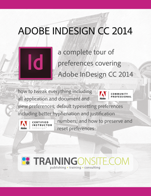 InDesign CC 2014 tour of preferences