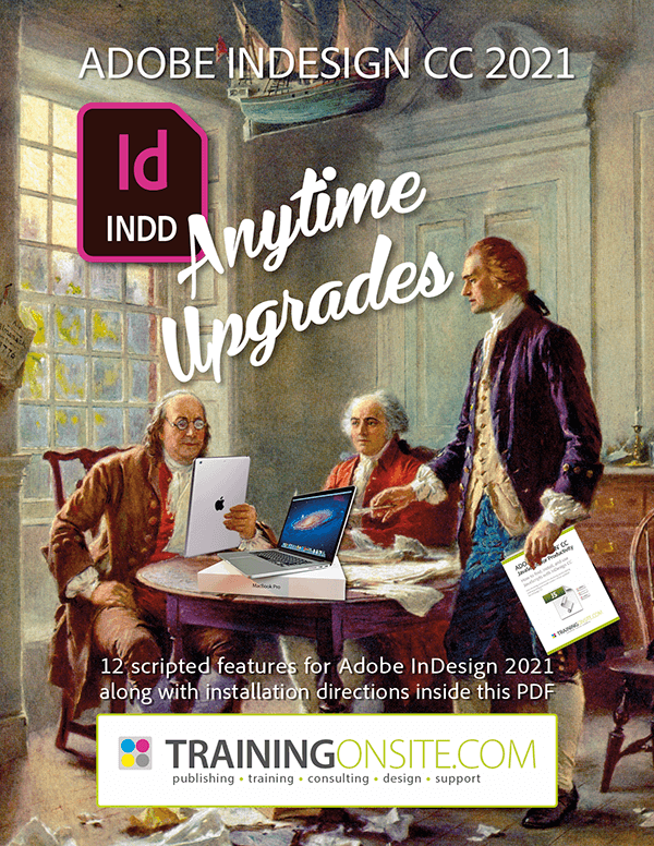 InDesign Anytime Upgrades
