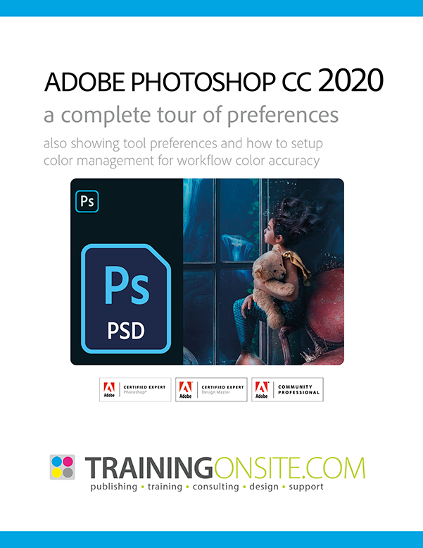 Photoshop CC 2020 tour preferences